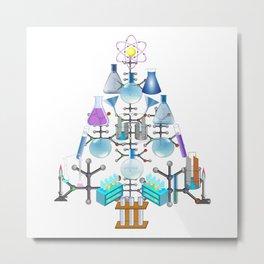Oh Chemistry, Oh Chemist Tree Metal Print