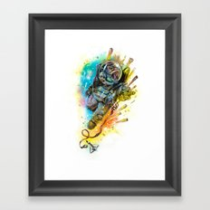 Houston we have a problem Framed Art Print