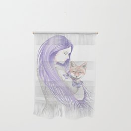 Dreamy Foxes Wall Hanging