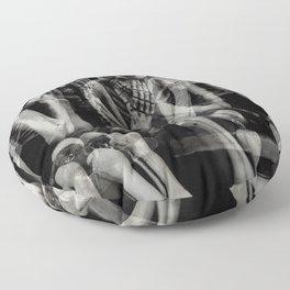 The Bench of Regrets Floor Pillow