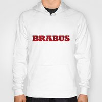 mercedes Hoodies featuring BRABUS by Pisthead