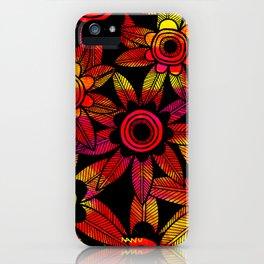 Big Floral 1 iPhone Case