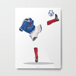 France 1998 - World Cup Winners Metal Print