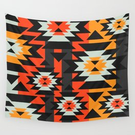 Aztec geometry Wall Tapestry