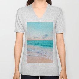 Ocean Bliss #society6 #society6artprint #buyart Unisex V-Neck