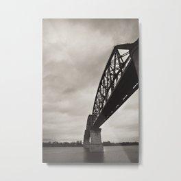 Bridge in The Air Metal Print