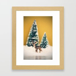 Walking in a Winter Wonderland Framed Art Print