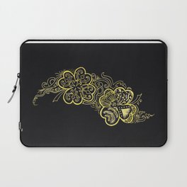 Four-leaf clover Laptop Sleeve