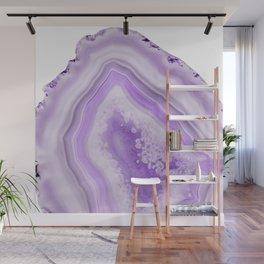 Soft Lavender Agate Dream #1 #gem #decor #art #society6 Wall Mural