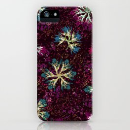 Stary Flowers iPhone Case