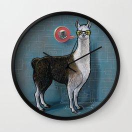 OK Llama Wall Clock