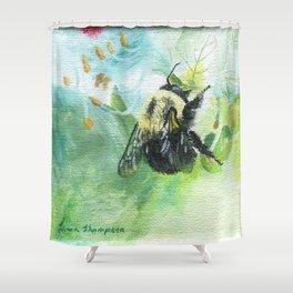 Synchronicity by Teresa Thompson Shower Curtain