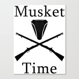 Musket Time Canvas Print