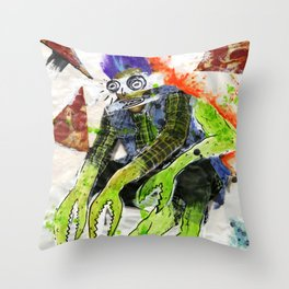 Pizza is Cool Throw Pillow
