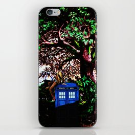 Tardis And Dr.Who 1 iPhone Skin