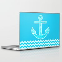 anchor Laptop & iPad Skins featuring Anchor by haroulita