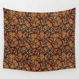Monarch Butterflies Wall Tapestry