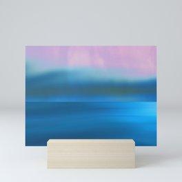 Waves and I Mini Art Print