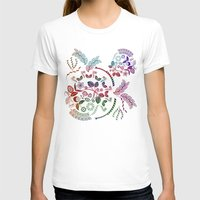 vintage floral T-shirts featuring Floral by famenxt