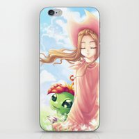 digimon iPhone & iPod Skins featuring Digimon Dream Mimi by valsharea