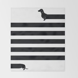 (Very) Long Dog Throw Blanket