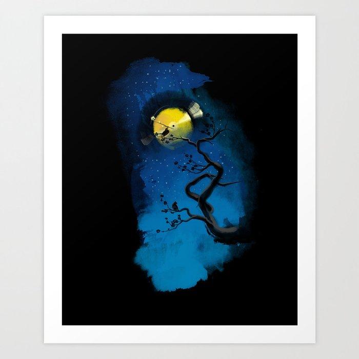 The Night Art Print