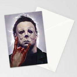 Michael Myers Rocks Stationery Cards