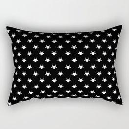 goat patterns white Rectangular Pillow