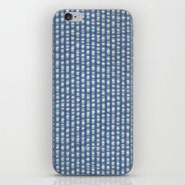 carolina seersucker iPhone Skin