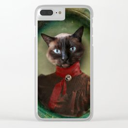 Young Lady of Shetland Clear iPhone Case