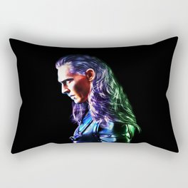 Loki - A Study In Perfection III Version Two Rectangular Pillow