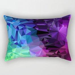 Crazy Crystals Rectangular Pillow
