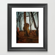 the wild unknown  Framed Art Print