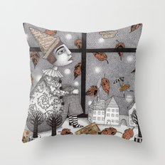 Twilight Hour Throw Pillow