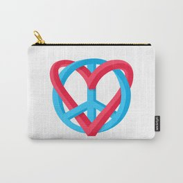 Peace + Love Carry-All Pouch