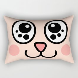 Cute bunny  Rectangular Pillow