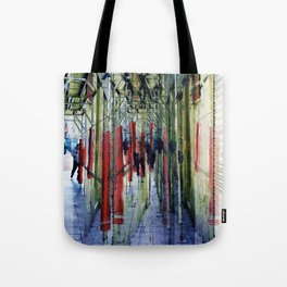 to traverse the ground underneath like facing foes Tote Bag