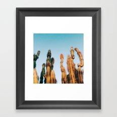 dr. seuss cacti Framed Art Print
