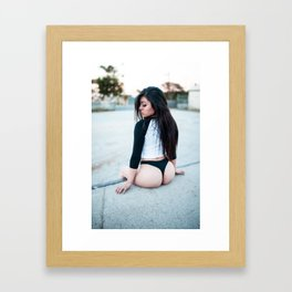 Can't Handle Who I Am Framed Art Print