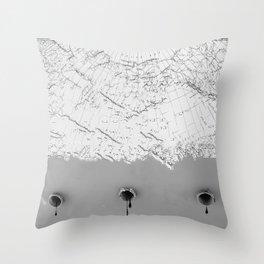 Draining Alaska Throw Pillow