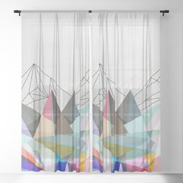 Colorflash 3 Sheer Curtain