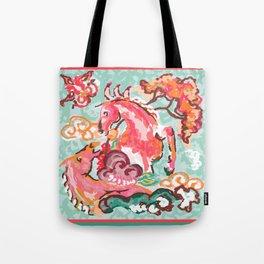 Equus Chinoiserie Tote Bag