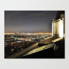 Observing Urbanization Canvas Print
