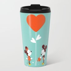 Minnie and Mickey Mouse Travel Mug