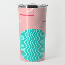 Memphis Summer Splash Travel Mug