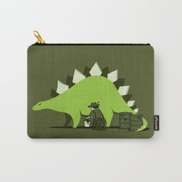 Crude oil comes from dinosaurs Carry-All Pouch