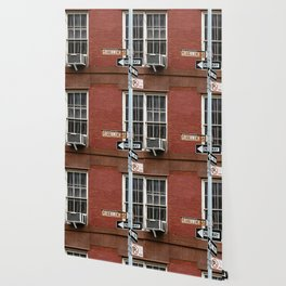 Greenwich Street in New York Wallpaper