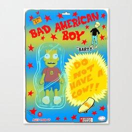 Bad American Boy Canvas Print