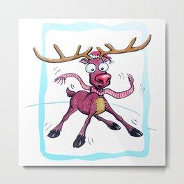 Deer! Metal Print