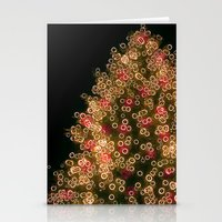merry christmas Stationery Cards featuring Merry Christmas by Joke Vermeer